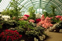 Royal Greenhouses of Laeken Royalty Free Stock Photography