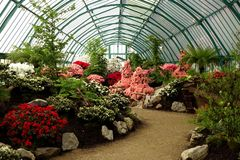 Royal Greenhouses of Laeken Royalty Free Stock Photos