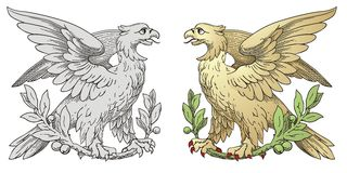 Royal Griffins Stock Images
