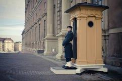 Royal guard - Sweden. Royal guard at the Swedish castle Stock Photo
