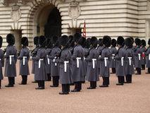 Royal guard. OLYMPUS DIGITAL CAMERA stock image