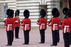 Royal Guard Buckingham Palace Royalty Free Stock Photos