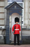 Royal guard in Buckingham Palace Stock Photo