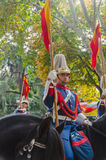 Royal Guard Cavalry Royalty Free Stock Images