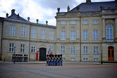 Royal guard in copenhagen Stock Photos