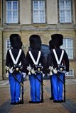 Royal guard in copenhagen Stock Photography
