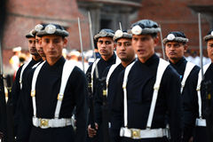 The Royal Guard Division of Nepal Stock Photo