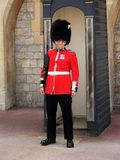Royal Guard on duty Stock Images