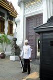 Royal Guard at the Grand Palace, Bangkok Royalty Free Stock Photography