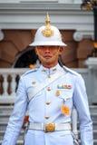 Royal Guard at the Grand Palace of Thailand Royalty Free Stock Image