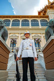 Royal Guard at the Grand Palace of Thailand Stock Photos