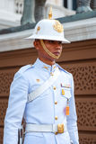 Royal Guard at the Grand Palace of Thailand Royalty Free Stock Image