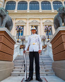 Royal Guard at the Grand Palace of Thailand Royalty Free Stock Photos