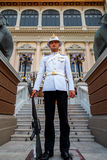 Royal Guard at the Grand Palace of Thailand Royalty Free Stock Images