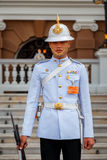 Royal Guard at the Grand Palace of Thailand Royalty Free Stock Photo