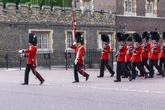 The Royal Guard, London Royalty Free Stock Images