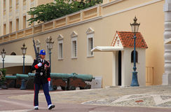 Royal guard, Monaco Stock Images