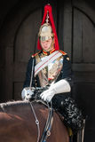 Royal Guard mounted trooper Stock Image