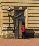 Royal Guard Outside Buckingham Palace Royalty Free Stock Photography