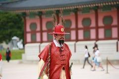 Royal guard parade Stock Image