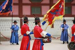 Royal guard parade Stock Photo