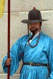 Royal guard, Seoul, Korean Republic Stock Photography