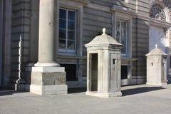 Royal guard shelters. Stock Photo