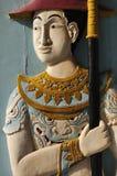 Royal guard statue Stock Photography