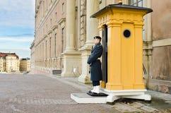 Royal guard - Sweden. Royal guard at the Swedish castle royalty free stock images