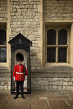 Royal Guard in Tower of London Royalty Free Stock Photos