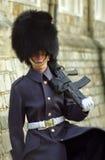 Royal guard, Windsor, England Royalty Free Stock Photo