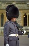 Royal guard, Windsor, England Royalty Free Stock Images