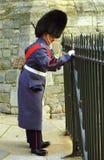 Royal guard, Windsor, England Royalty Free Stock Photography