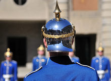 The Royal Guards Stock Images
