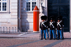 Royal Guards during the ceremony of changing the guards on the s Stock Photo