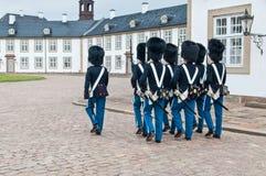 Royal guards Royalty Free Stock Photos