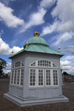 Royal guards house in Inderhavnen - Copenhagen, Denmark Royalty Free Stock Images