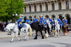 Royal Guards Stock Image