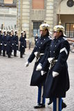 The Royal Guards of Sweden Royalty Free Stock Image