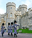 Royal guards - Windsor Royalty Free Stock Photos