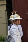 Royal guardsmen at the Grand Palace Royalty Free Stock Photo