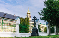 Royal Halls of the temple of the Intercession of the Mother of God. Trinity-Sergius Lavra. Sergiev Posad Royalty Free Stock Photos