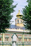 Royal Halls of the temple of the Intercession of the Mother of God. Trinity-Sergius Lavra Royalty Free Stock Photos