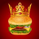 Royal Hamburger Royalty Free Stock Image