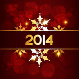 Royal happy new year. Stylish royal happy new year design illustration Royalty Free Stock Images