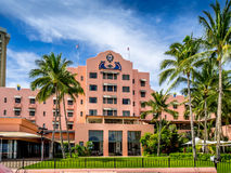 Royal Hawaiian Hotel Stock Image