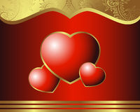 Royal Heart Stock Images