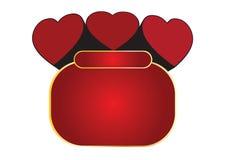 Royal hearts Stock Photos