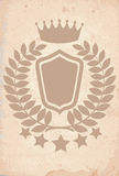 Royal heraldic emblem Royalty Free Stock Photo