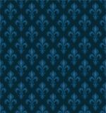 Royal Heraldic Lilies, seamless pattern Stock Images